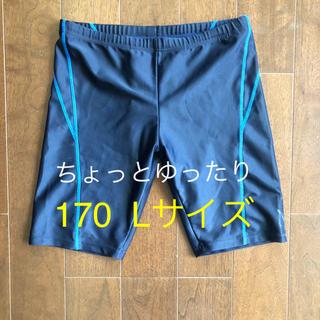 ナイキ(NIKE)のスクール 水着 ネイビー 170 ちょっとゆったり(水着)