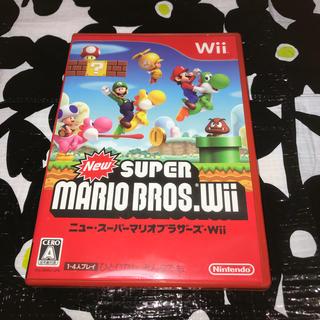 ウィー(Wii)のニュー スーパーマリオブラザーズ Wii (家庭用ゲームソフト)