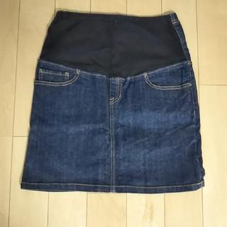 MUJI (無印良品) - 無印良品 マタニティデニムスカート