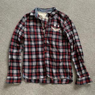 アップスタート(UPSTART)のUPSTART チェックネルシャツ(シャツ)