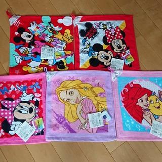 ディズニー(Disney)の新品 ループタオル⑨ ディズニー 5枚セット(その他)
