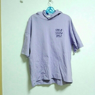ジーユー(GU)のビッグシルエットTシャツ M(Tシャツ(長袖/七分))