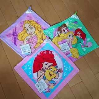 ディズニー(Disney)の新品 ループタオル⑩ ディズニー プリンセス 3枚セット(その他)