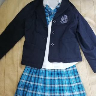 女子 私立中学校 制服 スカート/ブレザー/リボン(衣装)