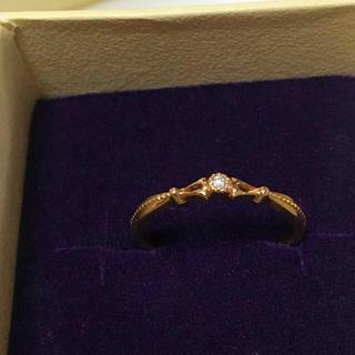 アガット(agete)のアガット k10 ダイヤモンドリング (リング(指輪))
