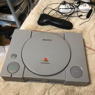 プレイステーション(PlayStation)の初代プレイステーション SCPH-5500(コンセントにさすやつのみ欠落)(家庭用ゲーム本体)