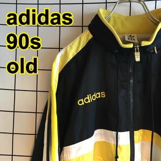 アディダス(adidas)の90s adidas ジャージ トラックジャケット オールド ヴィンテージ(ナイロンジャケット)