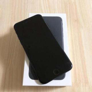 アイフォーン(iPhone)のiPhone7 128GB Black SIMフリー(スマートフォン本体)