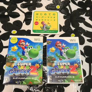 ウィー(Wii)のスーパーマリオギャラクシー2(家庭用ゲームソフト)