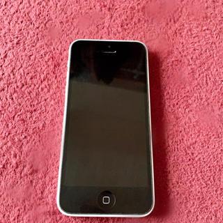 アップル(Apple)のiPhone 5C(美品)(スマートフォン本体)