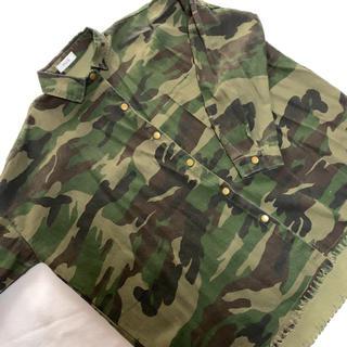 ウィゴー(WEGO)のミリタリージャケット 迷彩柄シャツ(ミリタリージャケット)