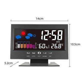 デジタル温度湿度計 LCD温度湿度計☆ ¥1,790 商品説(オフィス/パソコンデスク)
