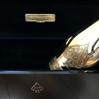 アルマンドバジ(Armand Basi)のアルマンド ゴールド  2018 空瓶 箱 布ケース(シャンパン/スパークリングワイン)
