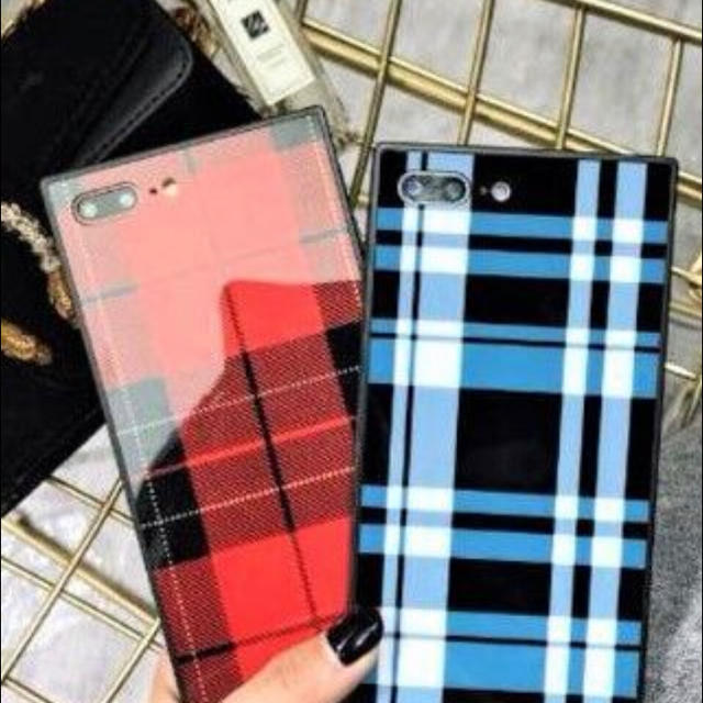 新品 グレンチェック iPhoneケースの通販 by peach.Jr's shop|ラクマ