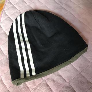 アディダス(adidas)のアディダス ニット帽 リバーシブル(ニット帽/ビーニー)