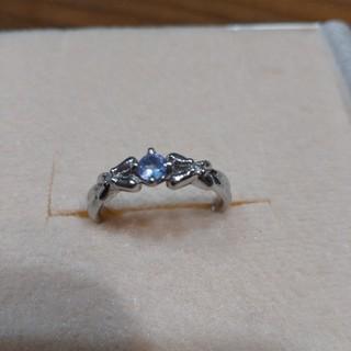 タンザナイト ダイヤモンド プラチナ pt900 指輪 リングです(*´ω`*)(リング(指輪))
