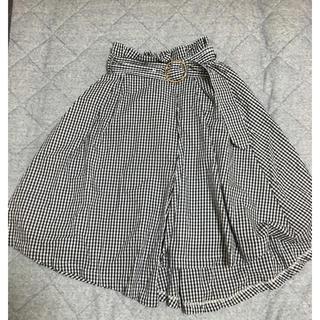 トルテ(TORTE)のトルテ ベルト付 ギンガムチェックスカート(ひざ丈スカート)