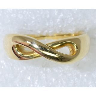 K18 ティファニー インフィニティリング サイズ5(リング(指輪))