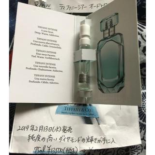 ティファニー(Tiffany & Co.)のティファニーオードトワレ サンプル品(香水(女性用))