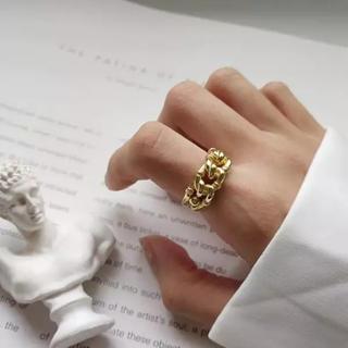 アメリヴィンテージ(Ameri VINTAGE)のラスト一点 特別割引new ゴールド デザインリング(リング(指輪))