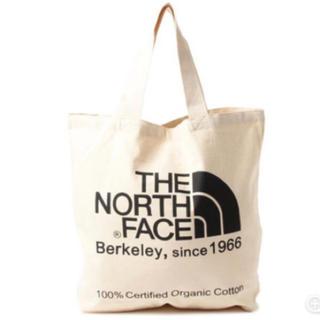 THE NORTH FACE - ノースフェイス オーガニックコットンロゴトート NM81616 ブラック