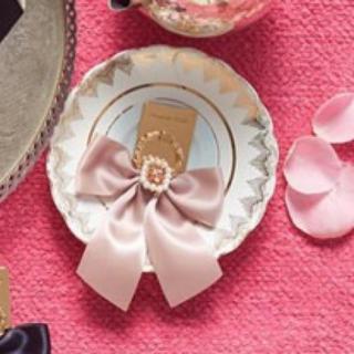 Maison de FLEUR - メゾンドフルール スマホリング 薄ピンク