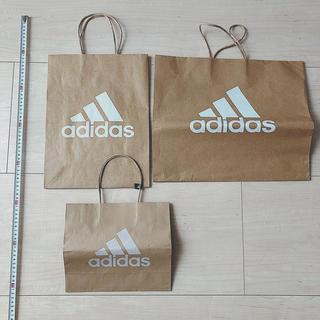 アディダス(adidas)のadidas ショップバック 3枚セット(ショップ袋)