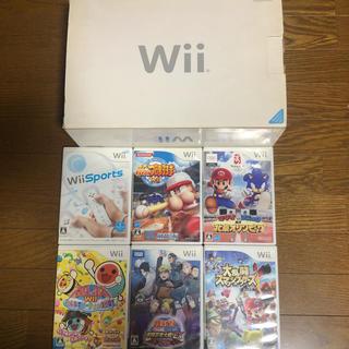 ウィー(Wii)のWii カセット付き(家庭用ゲームソフト)