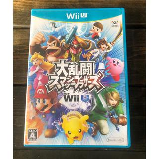 ウィーユー(Wii U)の大乱闘 スマッシュブラザーズ  wiiU(家庭用ゲームソフト)