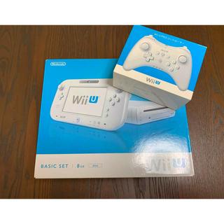 ウィーユー(Wii U)のWii U ベーシックセット 8GB + PROコントローラー(家庭用ゲーム本体)