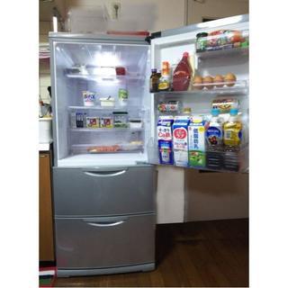 ハイアール(Haier)の【美品】14年製 AQUAアクア冷蔵庫 大容量 272L 3ドア ★説明書付(冷蔵庫)