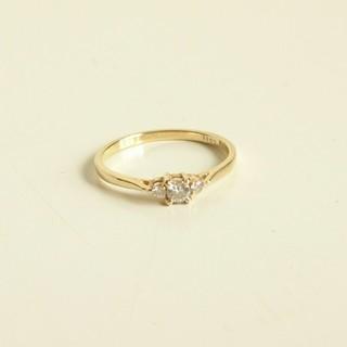アーカー(AHKAH)のk18ドレスアドレス ダイヤモンド 指輪 リング(リング(指輪))