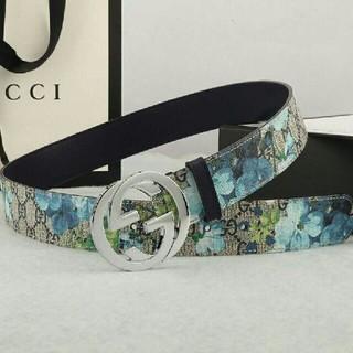 グッチ(Gucci)のGUCCI グッチ GG バックル インター ロッキング GG柄ベルト(ベルト)