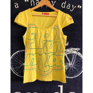 プーマ(PUMA)のプーマ PUMA Tシャツ 黄 イエロー(Tシャツ(半袖/袖なし))