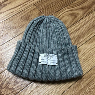 ジーユー(GU)のニット帽子(ニット帽/ビーニー)