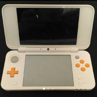 ニンテンドー2DS(ニンテンドー2DS)の2DS LL ホワイト オレンジ(携帯用ゲーム本体)