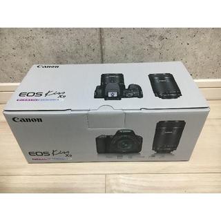 Canon - 【新品・送料無料】キヤノン EOS Kiss X9 ダブルズームキット