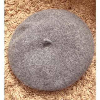 グレイル(GRL)のベレー帽 グレー(ハンチング/ベレー帽)