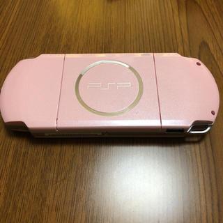 ソニー(SONY)のPSP-3000  ピンク(携帯用ゲーム本体)