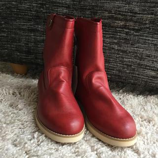 ファミリア(familiar)の新品未使用品  ファミリア ブーツ(ブーツ)