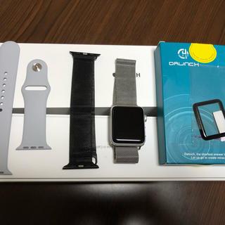 Apple Watch - アップルウォッチ3  GPS+セルラー  シルバーアルミニウム