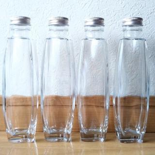 ハーバリウム瓶 パルファム瓶 4本セット200ml(その他)