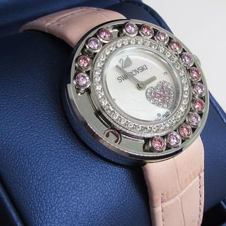 38aaa51c772f スワロフスキー(SWAROVSKI)の美品 SWAROVSKI ラブリークリスタルズハート 5096032 クォーツ(腕時計