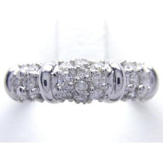 プラチナ 0.50ct ダイヤモンド リング(リング(指輪))