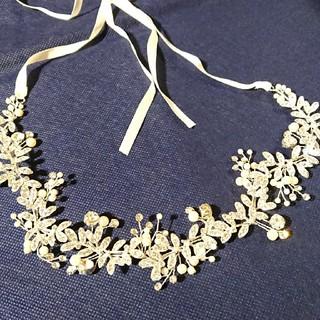 結婚式ヘアアクセ、イヤリング(ヘッドドレス/ドレス)