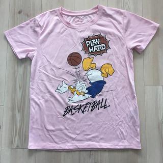 ディズニー(Disney)のディズニー バスケTシャツ M ピンク(バスケットボール)