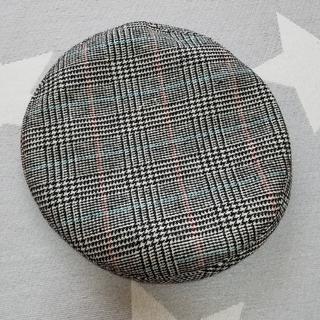 WEGO - WEGO ウィゴー ベレー帽 チェック グレンチェック 帽子 パイピングベレー帽