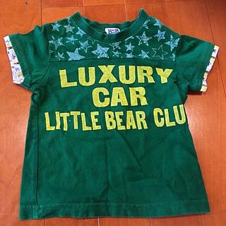 リトルベアークラブ(LITTLE BEAR CLUB)のリトルベアー  丸高のTシャツ  80㎝ (Tシャツ)