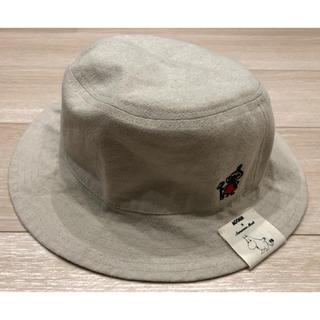 サマンサモスモス(SM2)の新品タグ付き ムーミン リトルミイ  リバーシブル 帽子(ハット)