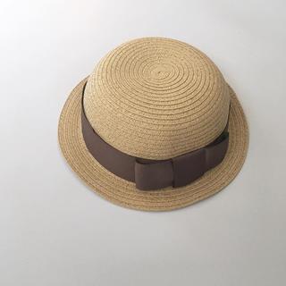 Caramel baby&child  - 新品タグ付き Chocoletesoup bowler hat 麦わら帽子